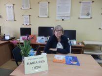 Więcej o Maria Ewa Letki – spotkanie autorskie