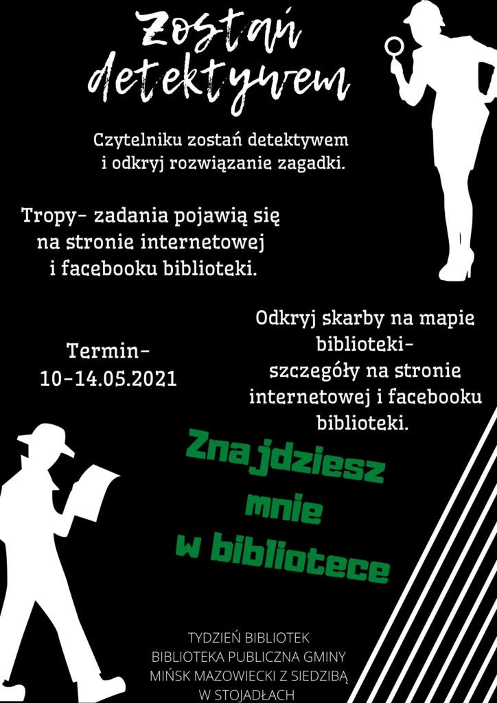Plakat Zostań detektywem
