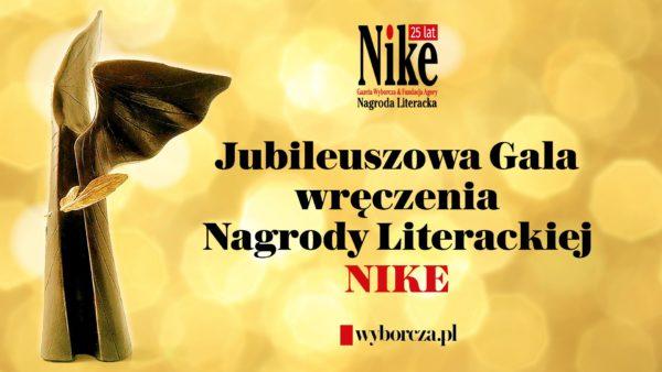 plakat-nagroda literacka Nike
